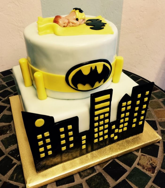 Captivating Photo Of Artistic Confections   Tallahassee, FL, United States. Batman Baby  Shower Cake