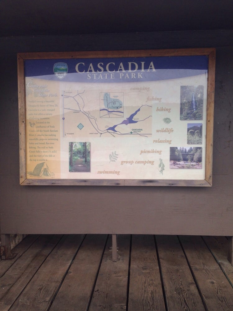 Cascadia State Park: 14 Miles E of Sweet Home Hwy 20, Cascadia, OR