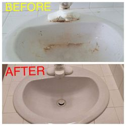 Photo Of Divine House Cleaning   Salem, OR, United States. Bathroom Sink  Cleaning