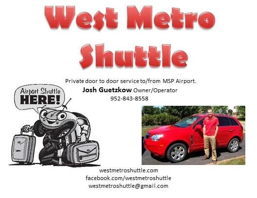 West Metro Shuttle: 145 Arnica Dr, Watertown, MN