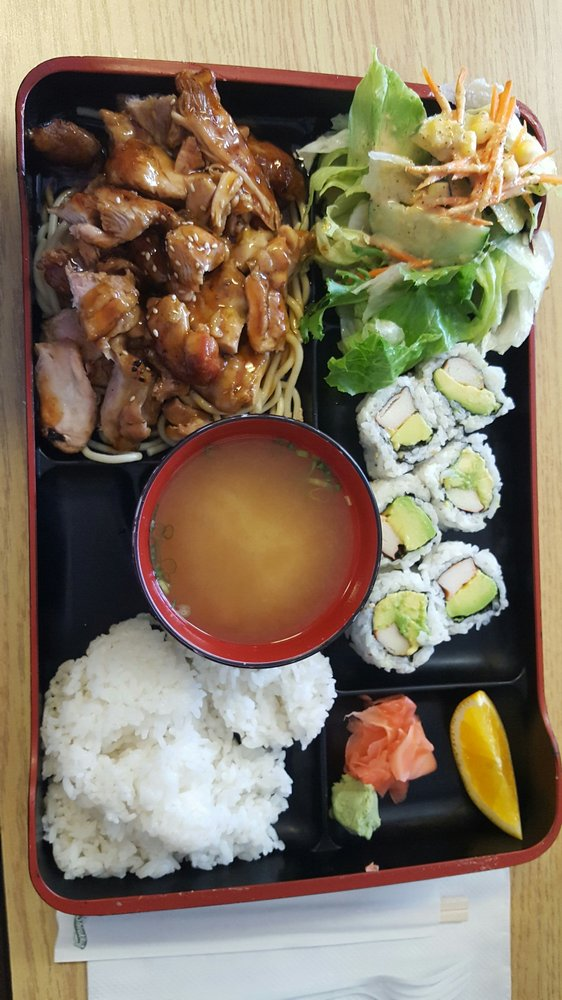 teriyaki and california roll lunch combination yelp. Black Bedroom Furniture Sets. Home Design Ideas
