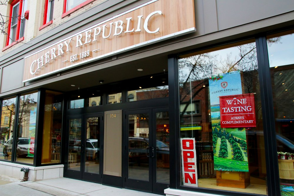 Cherry Republic - Traverse City: 154 E Front St, Traverse City, MI