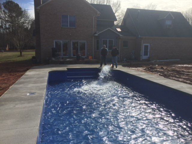 Photo Of Backyard Oasis Pools And Construction   York, SC, United States.  Clover