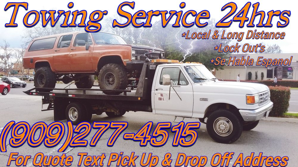 Huerta's Auto Towing Get Quote Towing 60 W Highland Ave San Magnificent Towing Quote