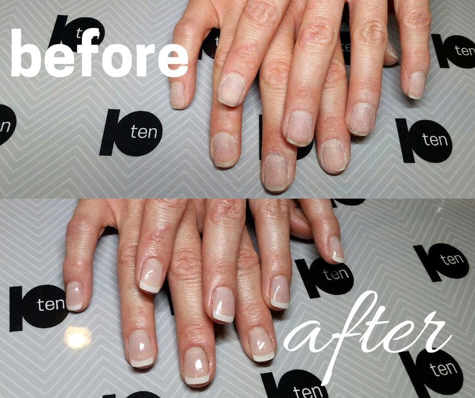We love how our natural en Vogue gel nails can transform the look of ...
