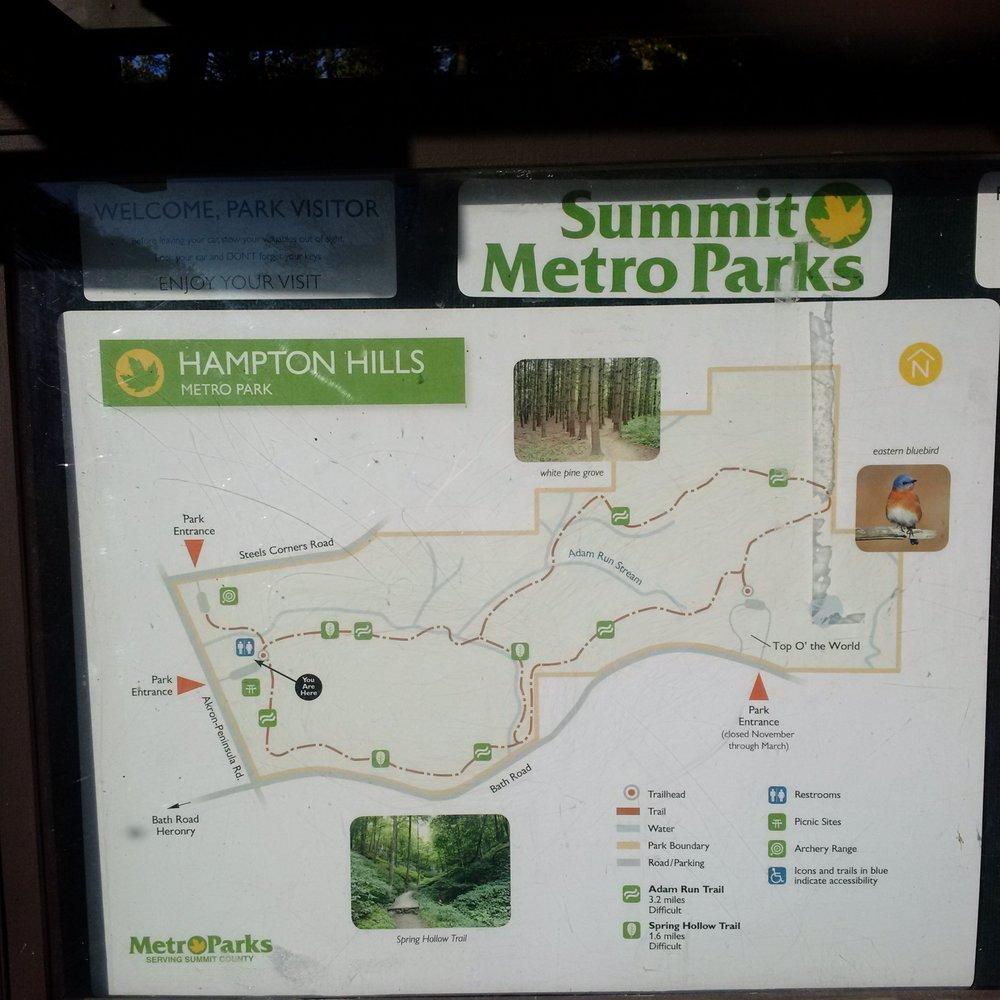 Hampton Hills Metro Parks: 2925 Akron Peninsula Rd, Akron, OH