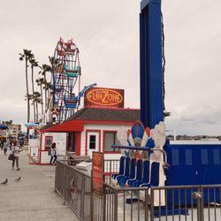 Photo Of Balboa Fun Zone Rides Newport Beach Ca United States Overcast