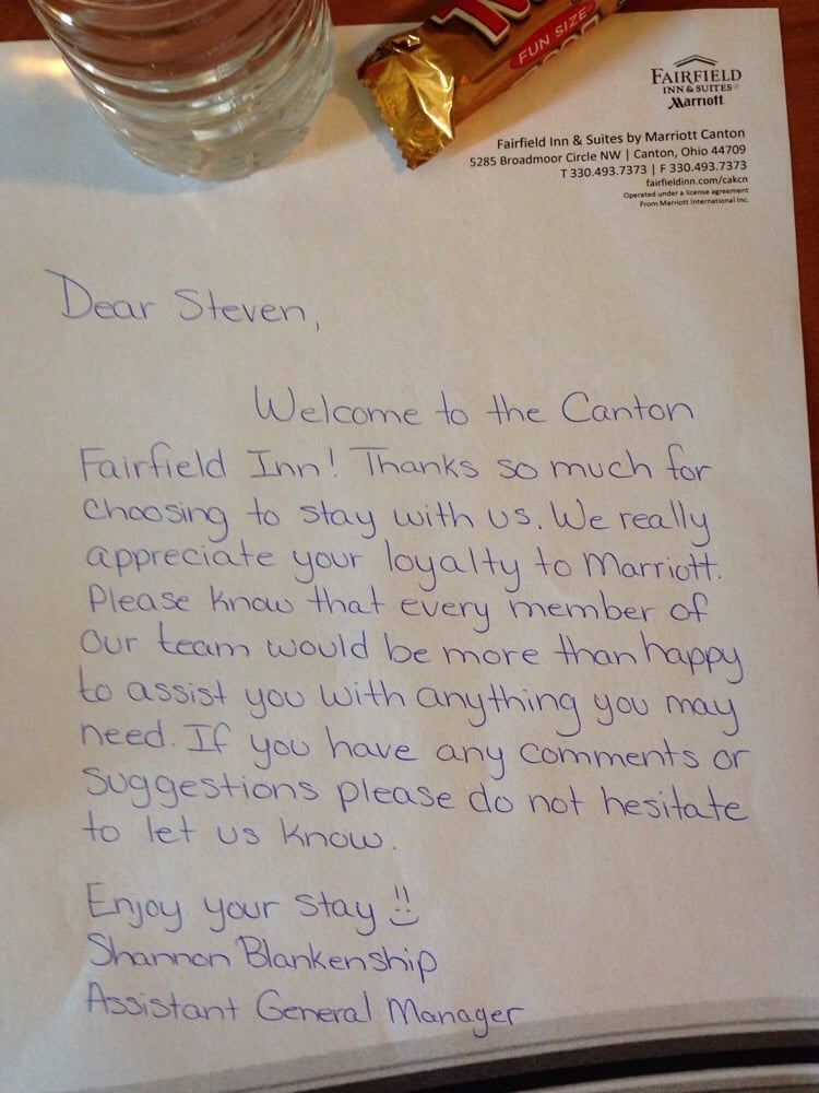 How about a handwritten welcome letter! When was the last time you