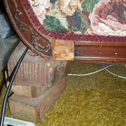 Photo Of Dbi Woodworks   Avon, MA, United States. Missing Leg On Antique ...