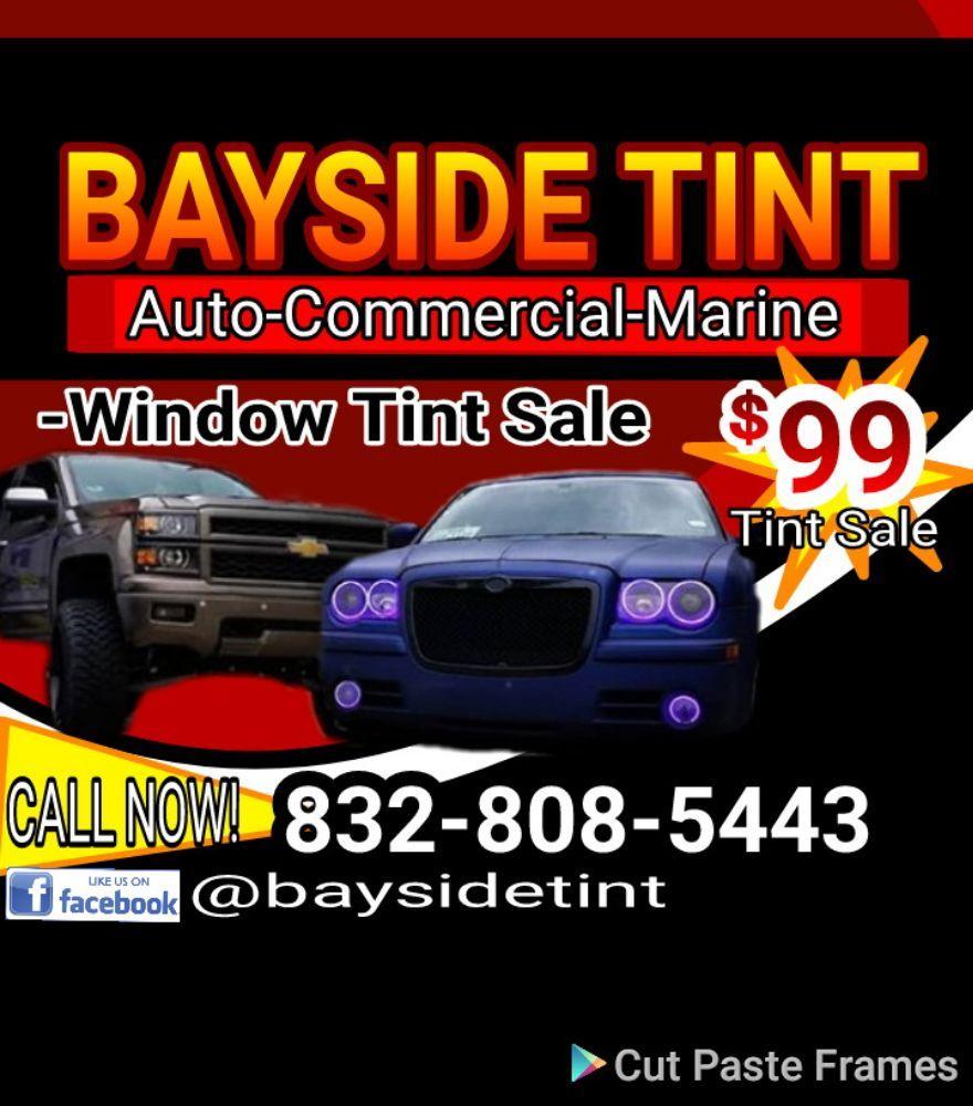 Bay Side Tint: 1336 Hwy 146, Kemah, TX