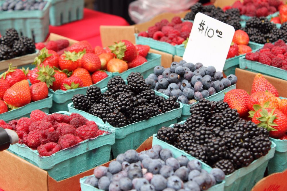 Portland Farmers Market - Pioneer Courthouse Square: SW 6th Ave, Portland, OR