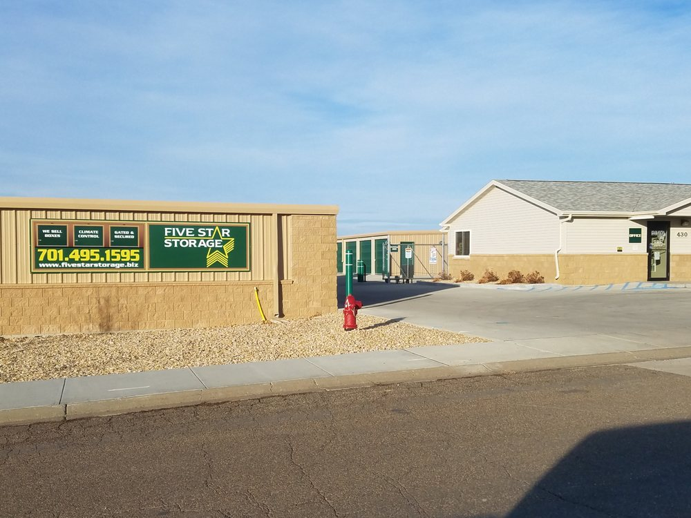 Five Star Storage: 430 29th St W, Dickinson, ND