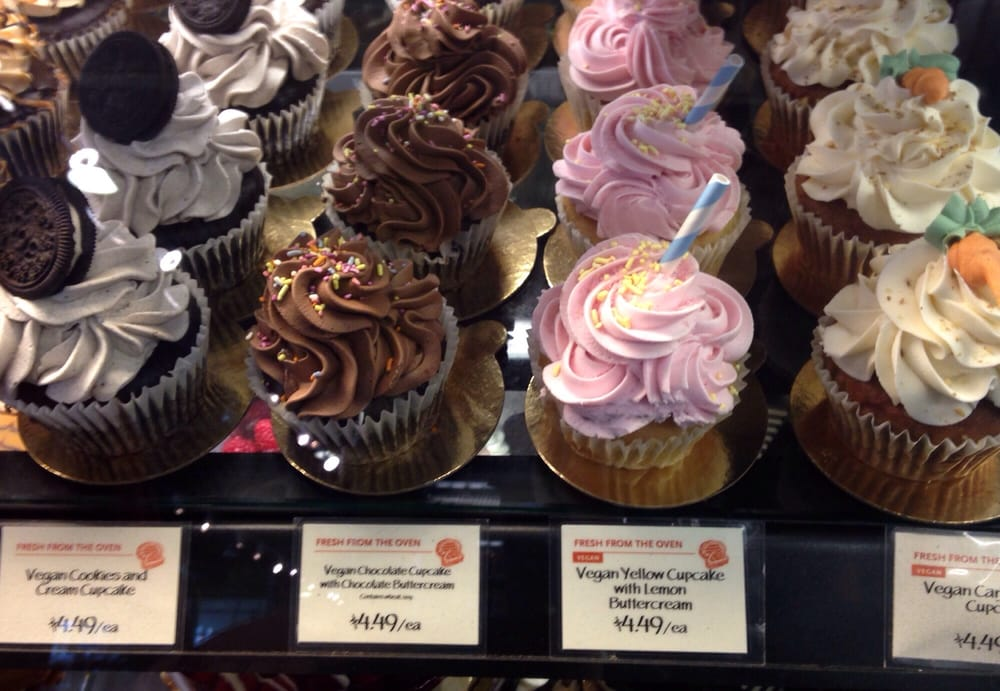 Whole Foods Market Vegan Cakes
