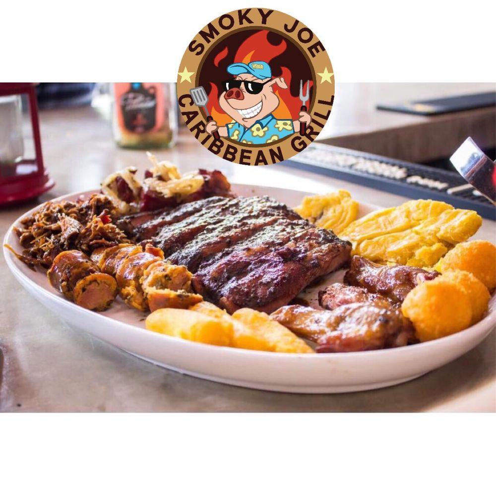 Smoky Joe Caribbean Grill: Kioskos de Luqillo 18, Luquillo, PR