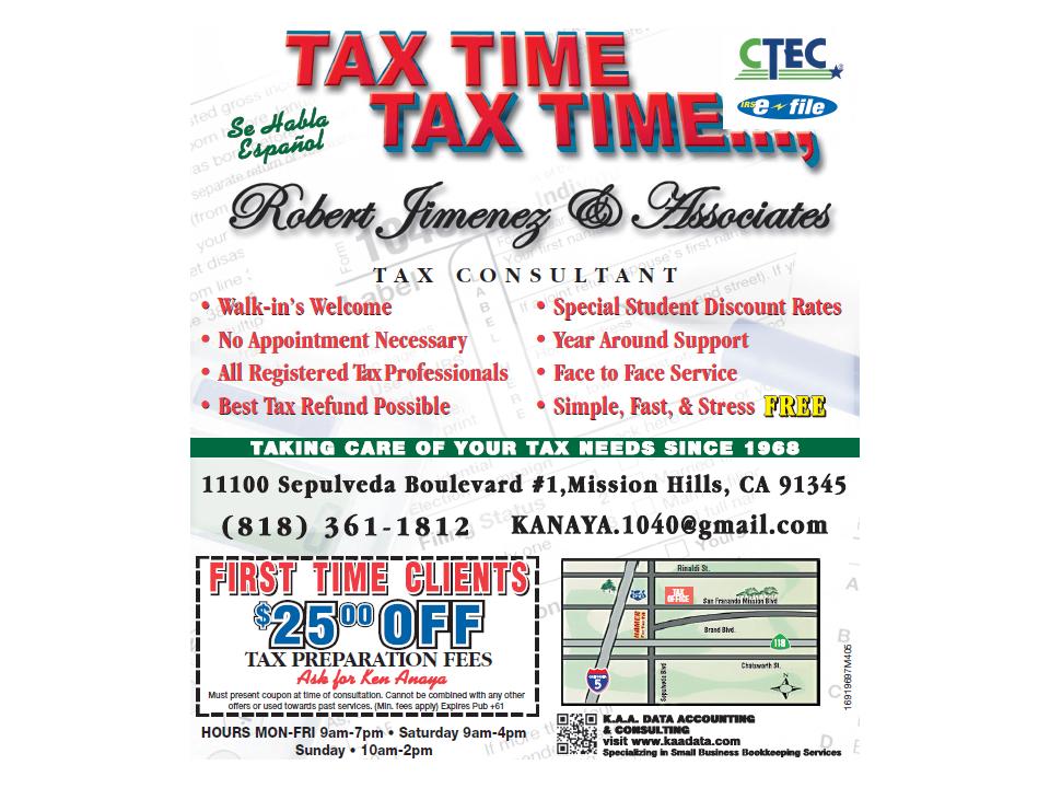 Walk In Taxes