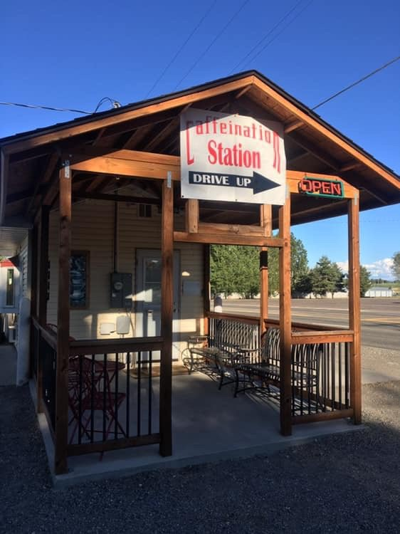 The Caffeination Station: 260 Highway 30, Filer, ID