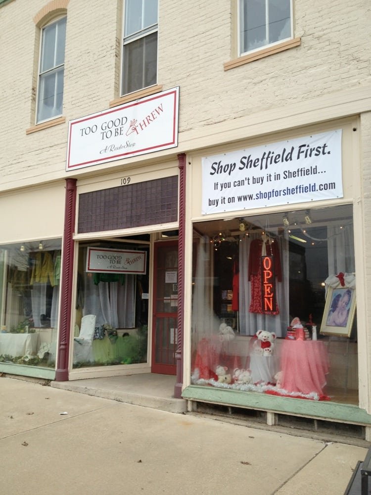 Too Good To Be Threw: 109 S Main St, Sheffield, IL