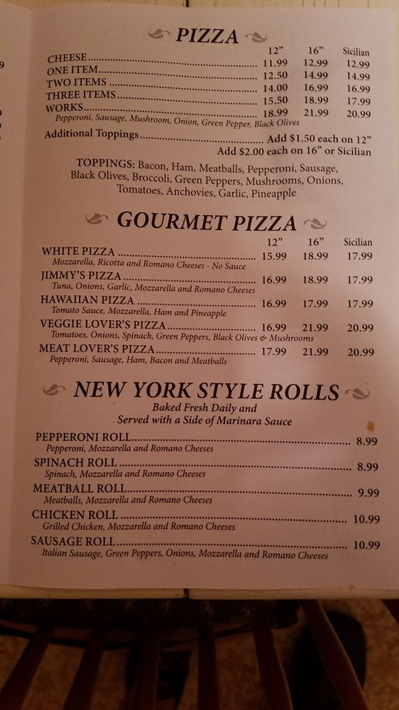 Jimmys Italian Kitchen Restaurant