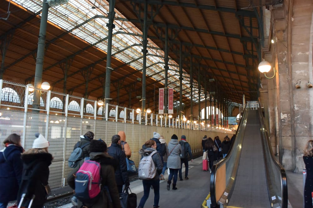 Estación de París Norte