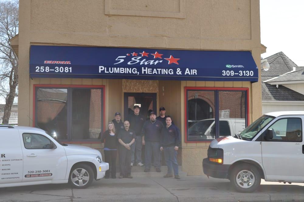 5 Star Heating & Air: 1516 3rd St N, Saint Cloud, MN