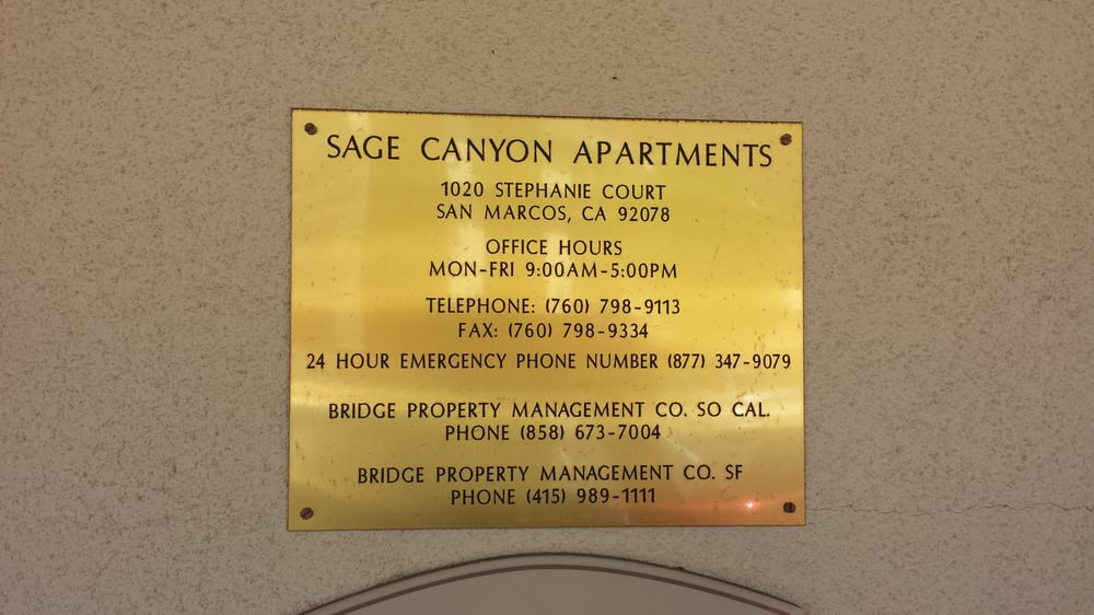 Sage Canyon Apartments San Marcos
