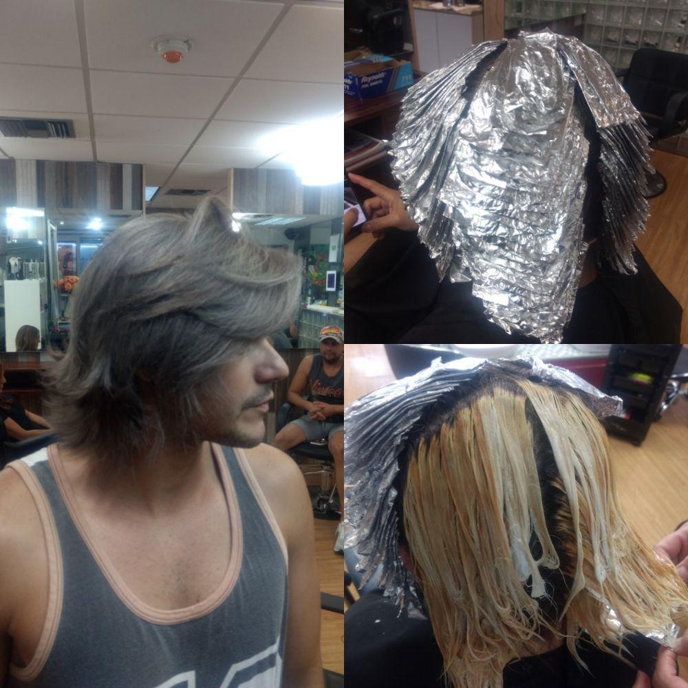 Dark Grey Hair Color By Diego Casas Yelp