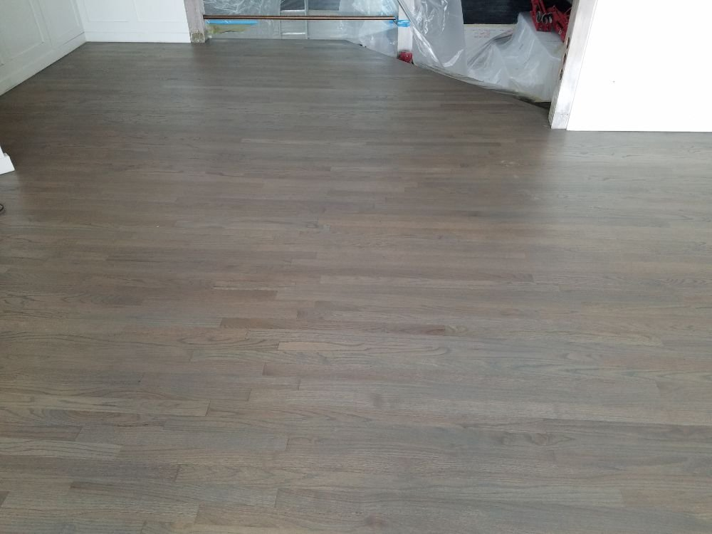 Mix Of Classic Gray And Ebony Stain   Yelp