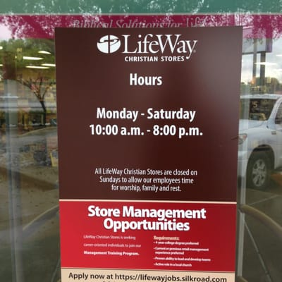 LifeWay Christian Store 7505 Southwest Freeway Fondren