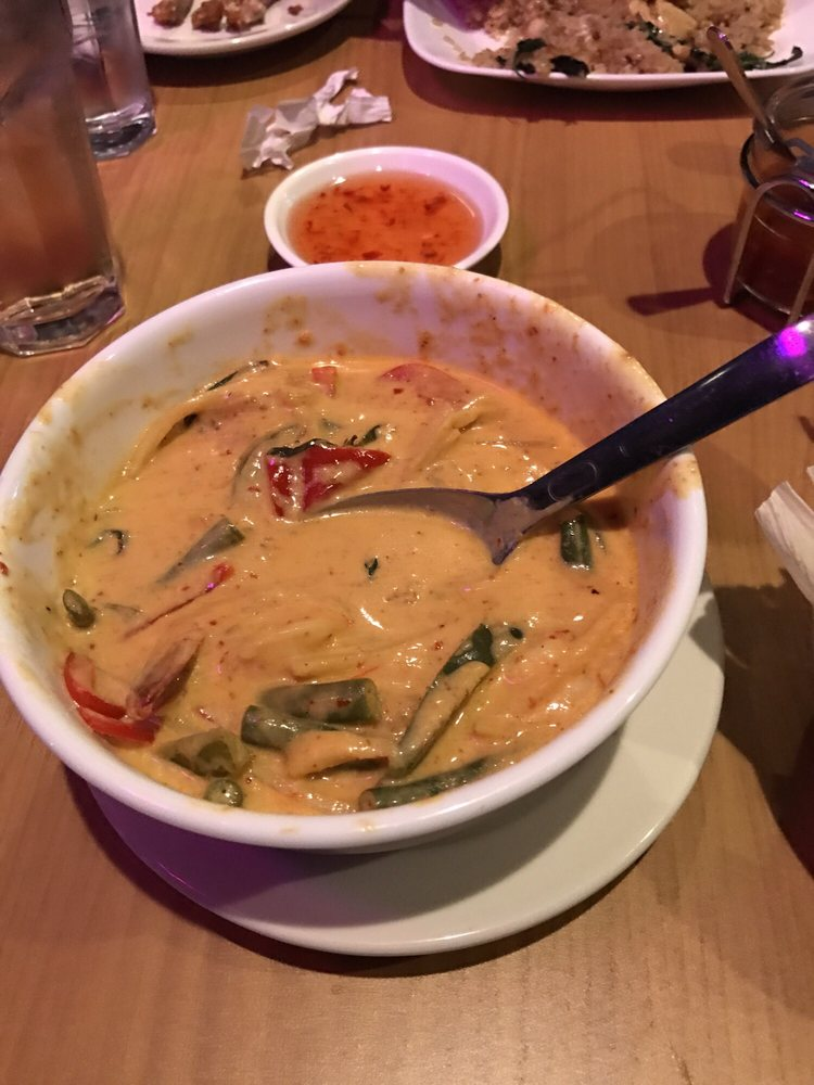 Red curry with shrimp yelp for 8 spices thai cuisine menu