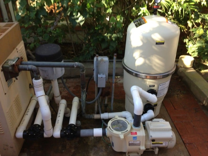 La Jolla New Variable Speed Pool Pump Amp Pentair De Filter