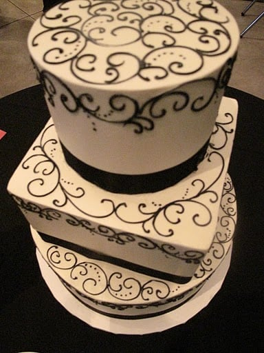 my wedding cake three layers of deliciousness yelp. Black Bedroom Furniture Sets. Home Design Ideas