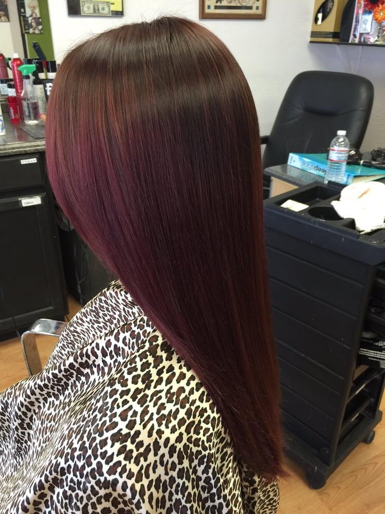 Mahogany Hair Color Fall Colors Latest Hair Trends Merced