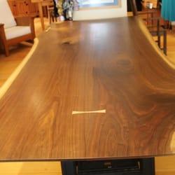 Photo Of Roaring Brook Furniture   Wallingford, VT, United States. Walnut  Live Edge
