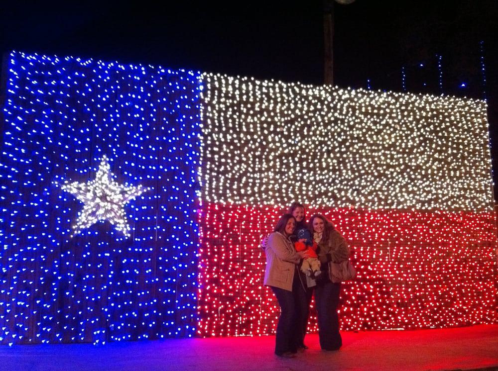 texas flag made out of christmas lights yelp