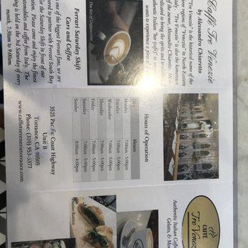 Caffe Tre Venezie - Order Online - 361 Photos & 174 Reviews - Coffee