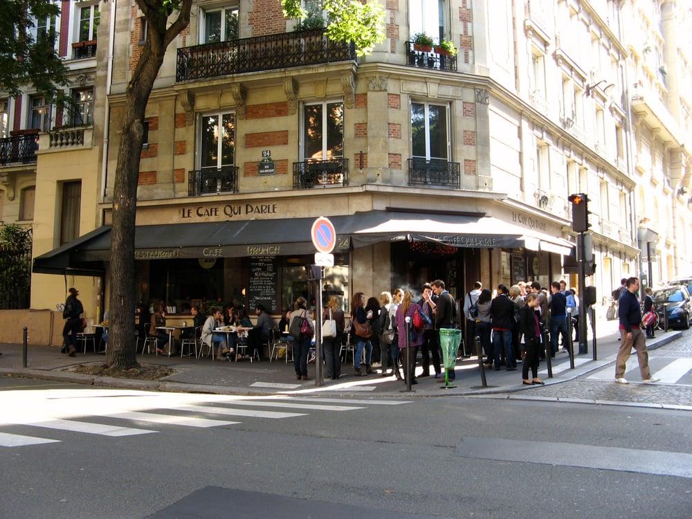 Le Caf Ef Bf Bd Qui Parle Paris