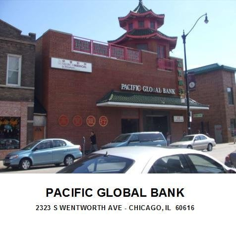 Chiam Restaurant is now Pacific Global Bank - Yelp