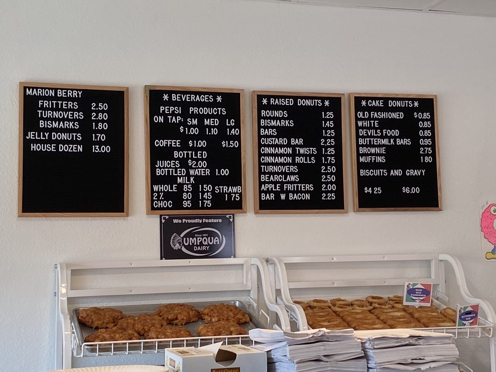 Empire Donuts: 114 N Wasson St, Coos Bay, OR