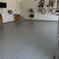 outdoor flakes floor painted flooring garage how apply epoxy advice diy b a with to warehouse bunnings