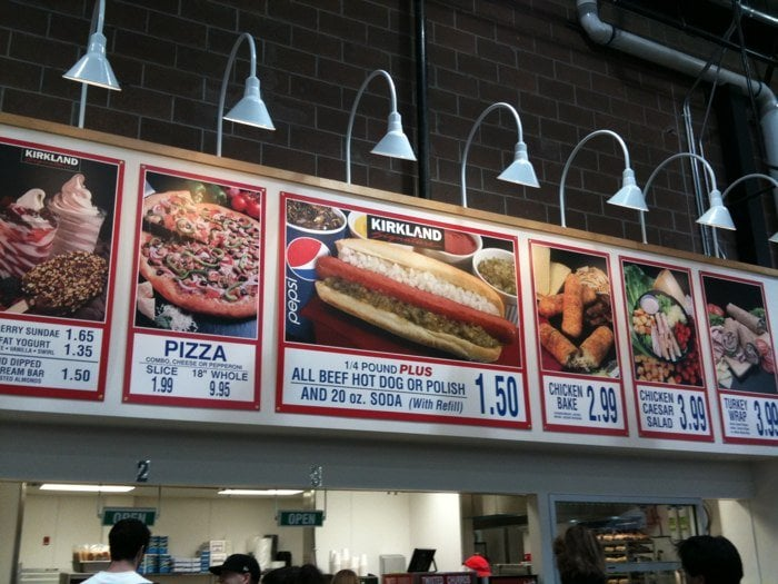 Costco Shoreline Food Court