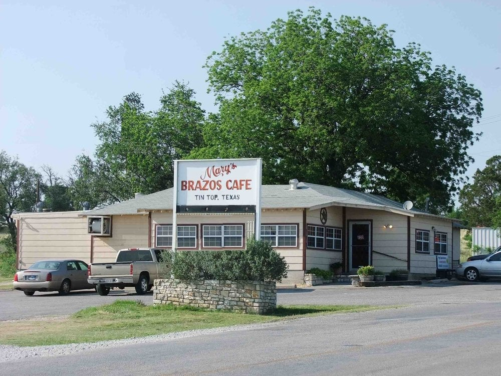 Marys Brazos Cafe: 5090 Tin Top Rd, Weatherford, TX