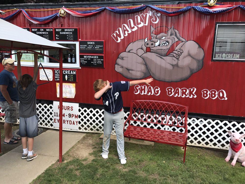 Wally's Shag Bark BBQ: 23 E Notch Dr, Friendship, NY