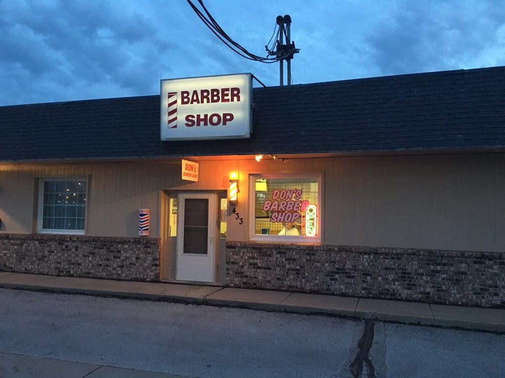 Don's Barber-Stylist Shop: 433 Galvin Rd N, Bellevue, NE