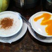 Tembleque Con Canela y Tembleque Con Mango
