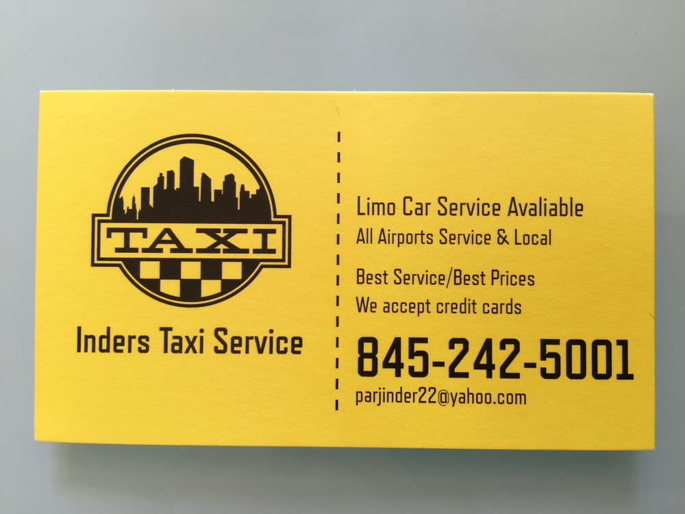 Inders Taxi Service: 18 Mews Aly, Poughkeepsie, NY