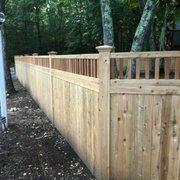 Jerith Aluminum Finial Photo Of Sudbury Cedar Fence Ma United States