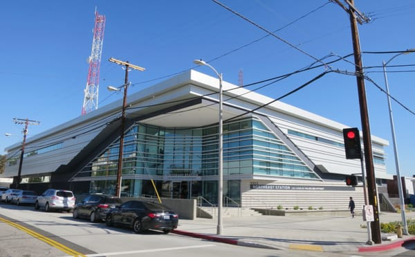 LAPD Northeast Community Police Station 3353 N San Fernando Rd Los