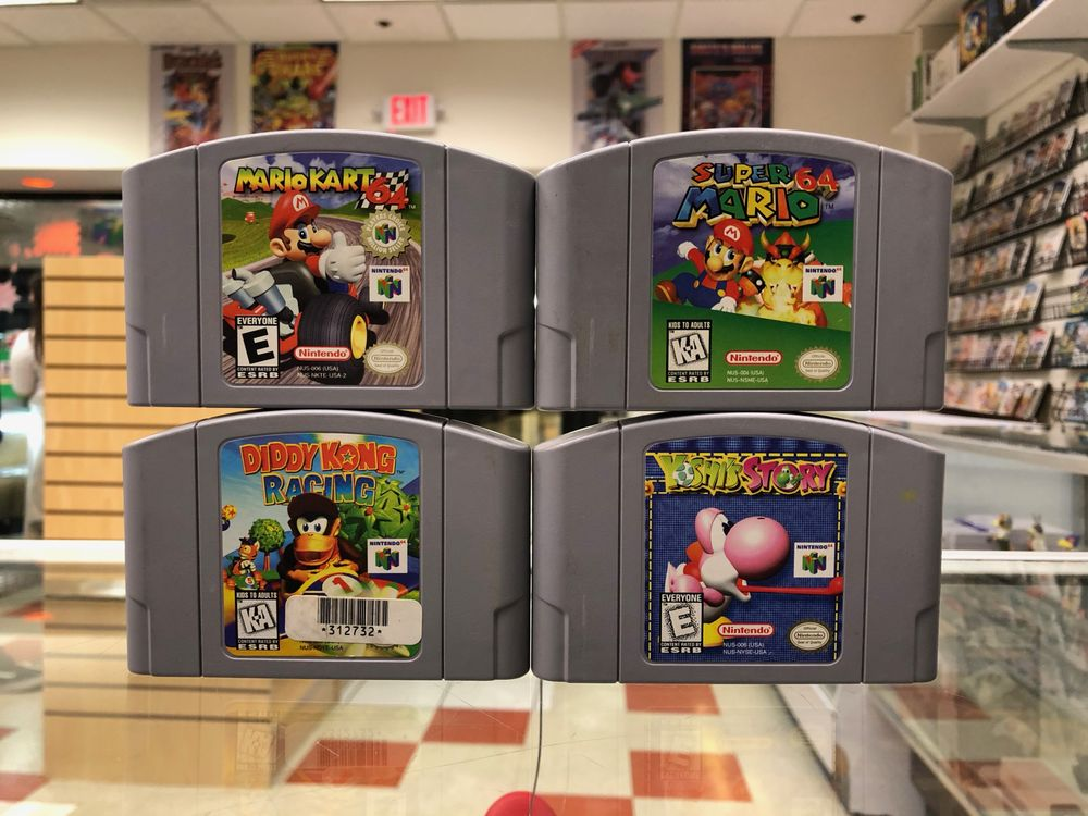 Flashback Video Games: 4522 Fredericksburg Rd, San Antonio, TX