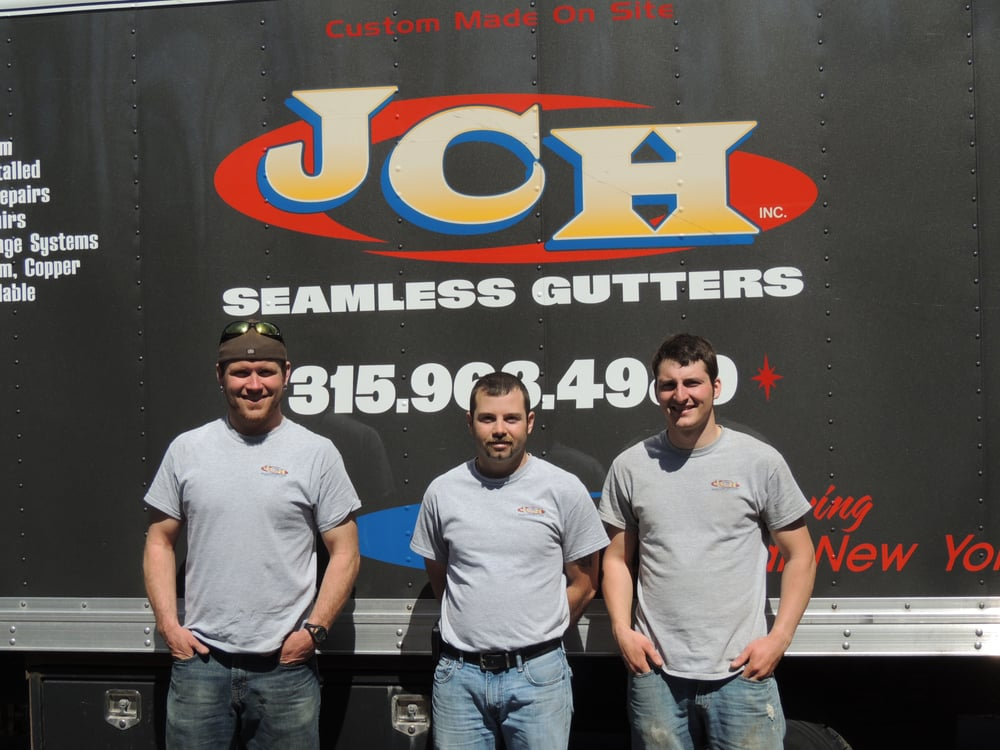 JCH Seamless Gutters: 5417 St Rt 3, Mexico, NY