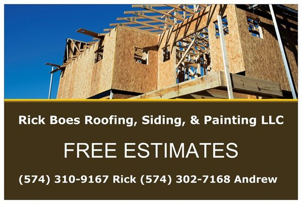 Photo Of Rick Boes Roofing Siding U0026 Painting   South Bend, IN, United States